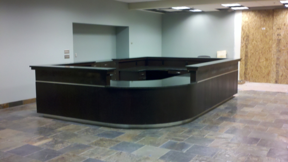 Reception Area - Ocean Etoli Granite Slab