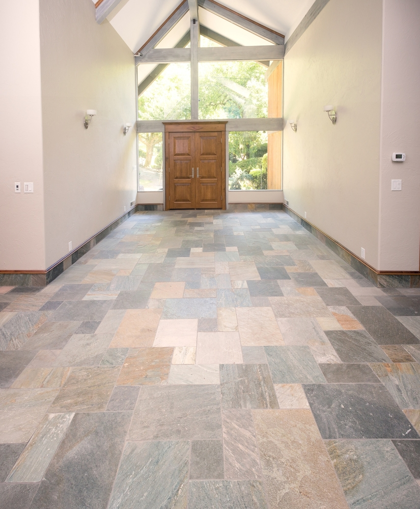 Tile entry way