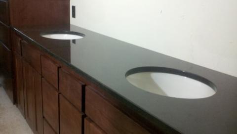 Image Black Pearl Granite Vanity